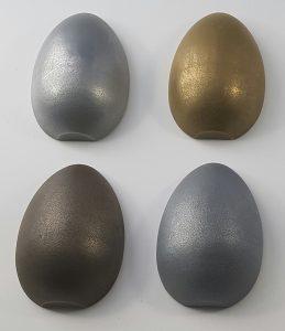 Aluminium, Brass, Zinc, NIckel Silver Finishes