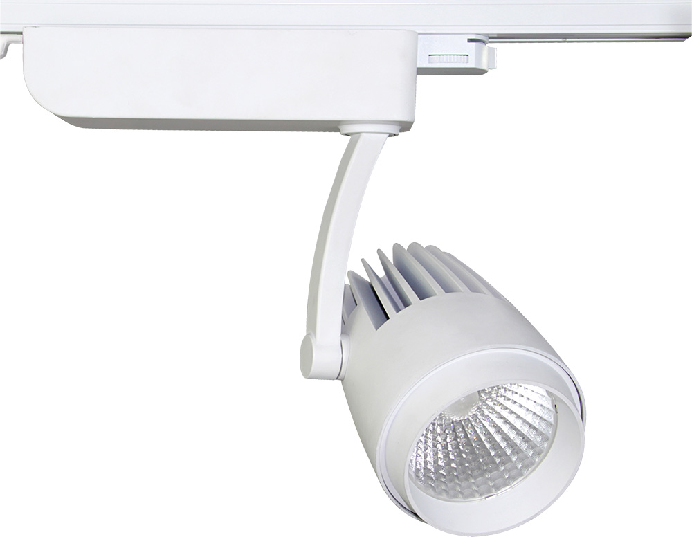 LED Track Mounted Light Fittings