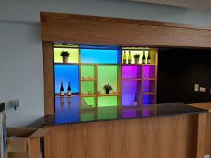 Illuminated Glass Panels